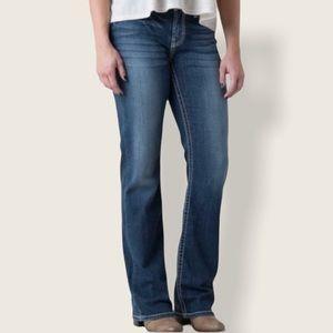 BKE Denim Harper Boot Cut High Waisted Jeans